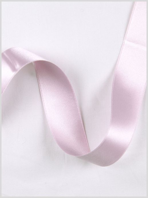 Orchid Double Face French Satin Ribbon - 1
