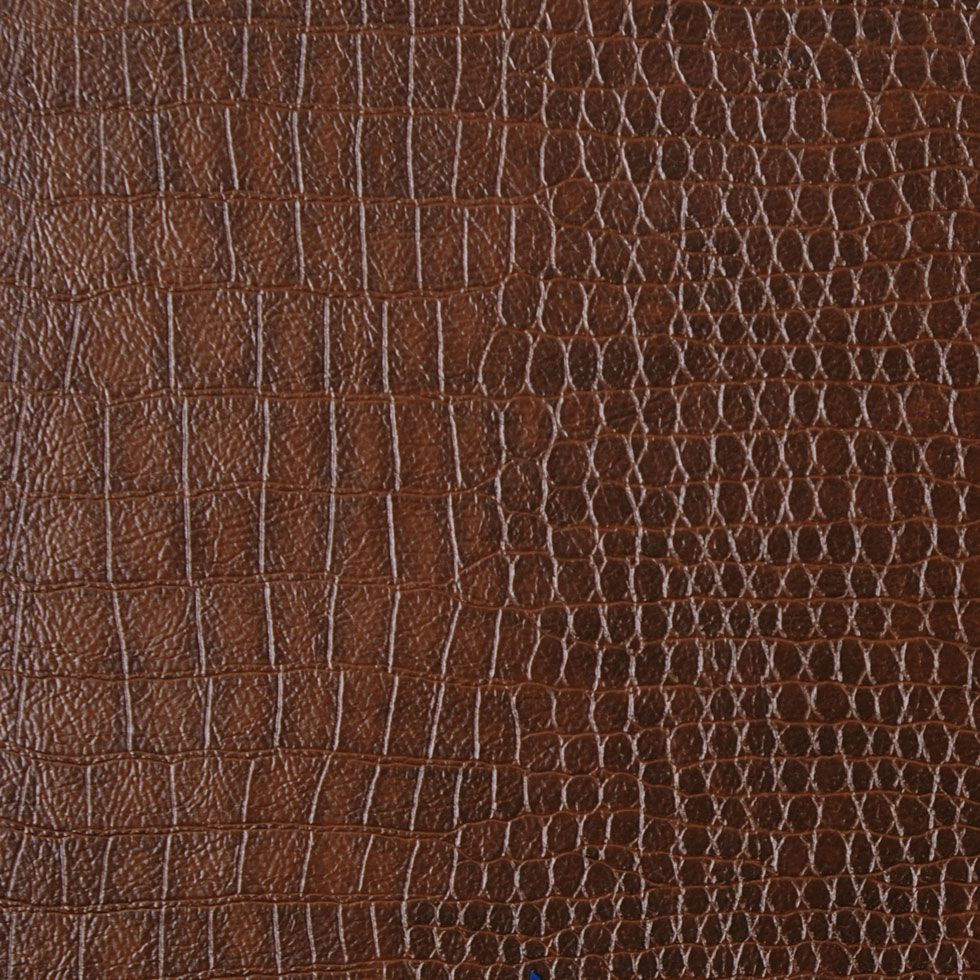brown croco leather moxies leather