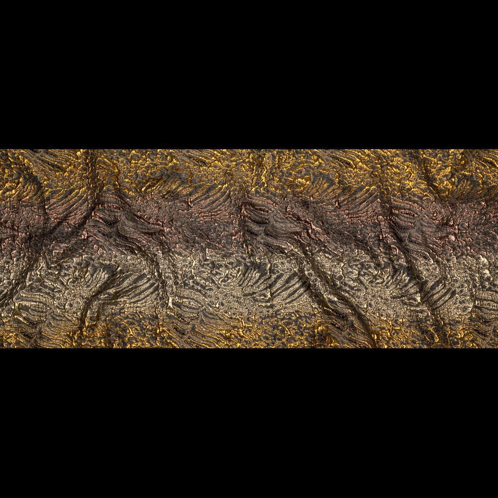 Metallic Bright Gold Bronze And Winter Twig Abstract Ombre Luxury Brocade Lame Metallic Other Fabrics Fashion Fabrics