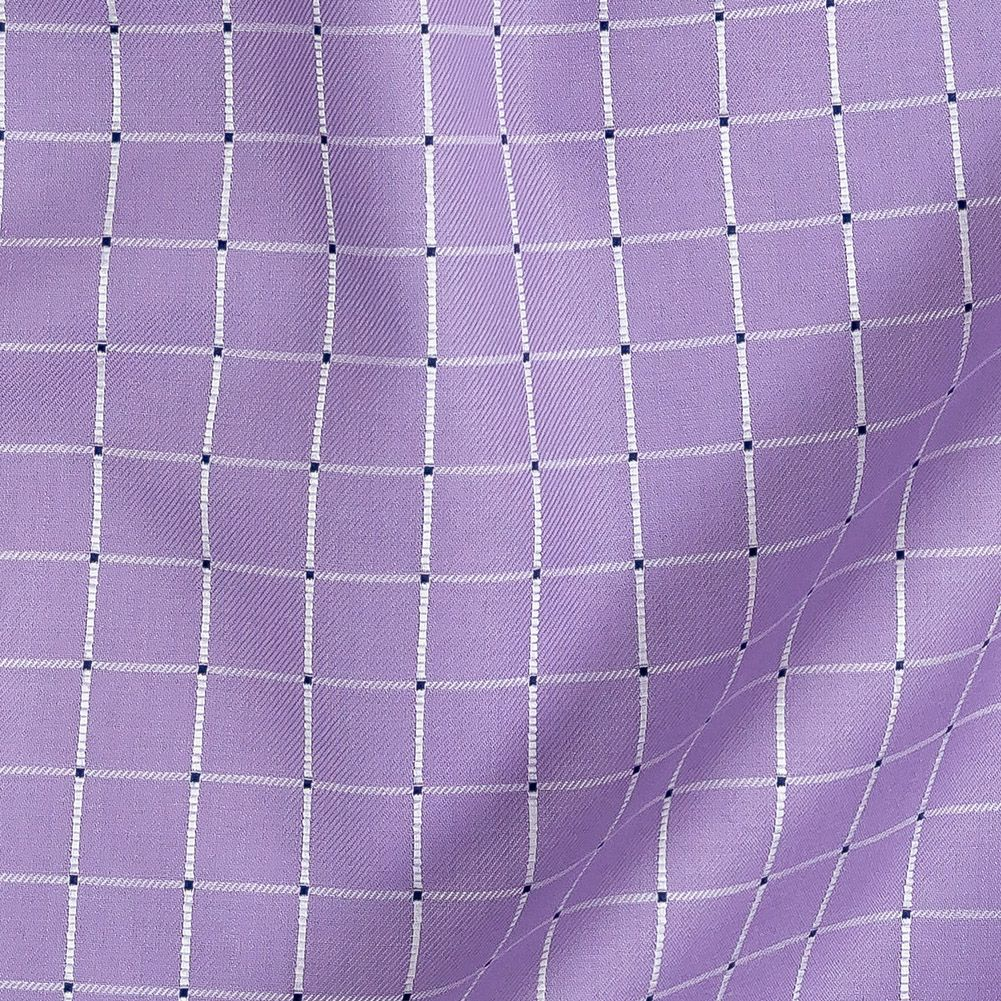 Dobby Cotton fabric  Lilac Verben Rock The Dock  BTY purple