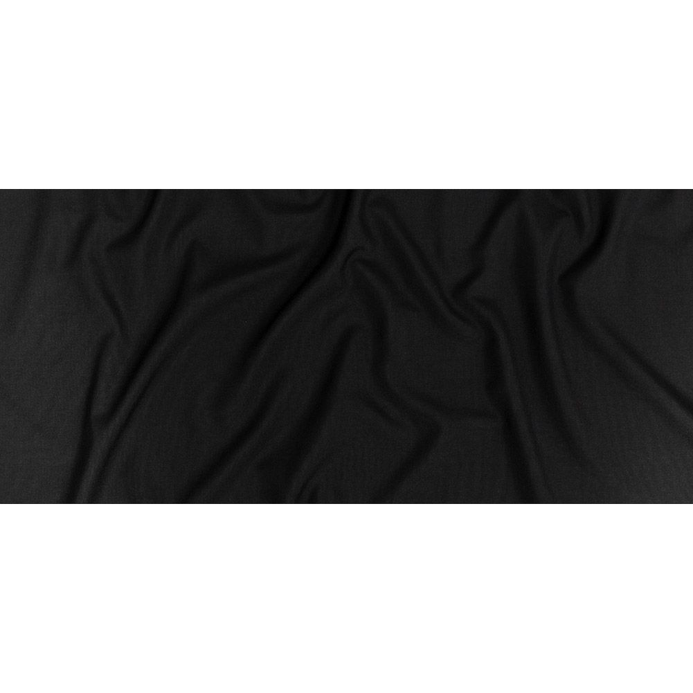 Pumice Black Texture Tropical Wool Blend Suiting Fabric By The Yard