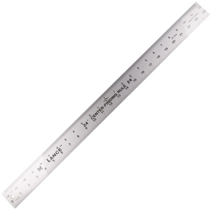 Lance Double Sided 24'' Ruler