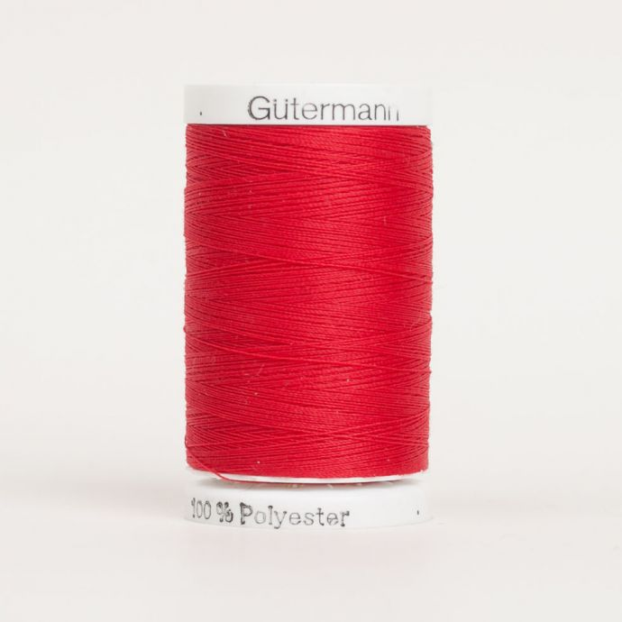 410 Primary Red 500m Gutermann Sew All Thread