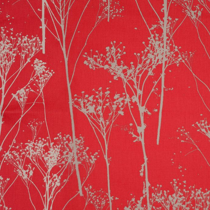 Lychee Trees Cotton Woven Print