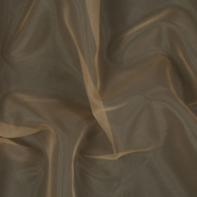Antique Gold 2-Ply Polyester Organza