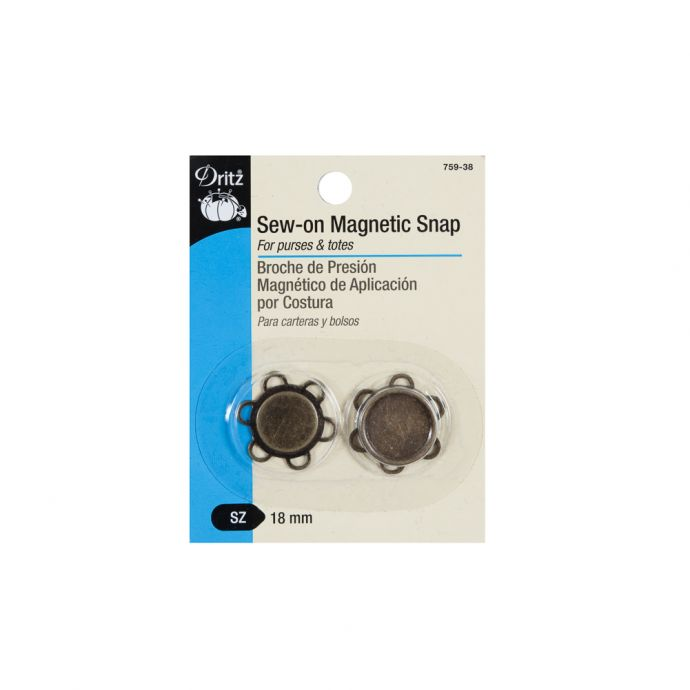 Dritz Sew-On Magnetic Snap - 28L/18mm