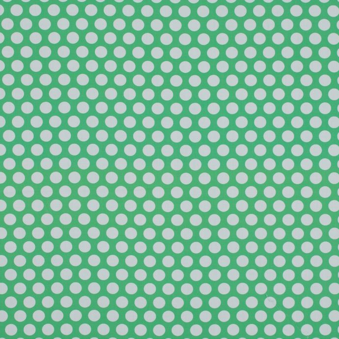 Mood Exclusive Dipping Dots Green Cotton Poplin