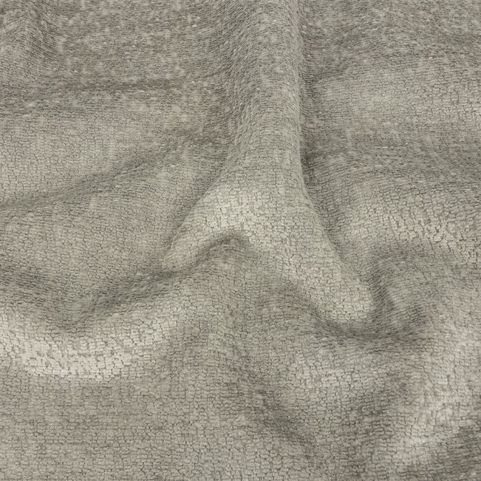 Crypton Hesse Gray Tactile Polyester Chenille