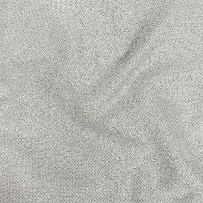 Silver Minute Diamond Blended Polyester Jacquard