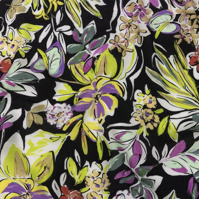 Mood Exclusive Black Greenhouse Gala Sustainable Viscose Woven