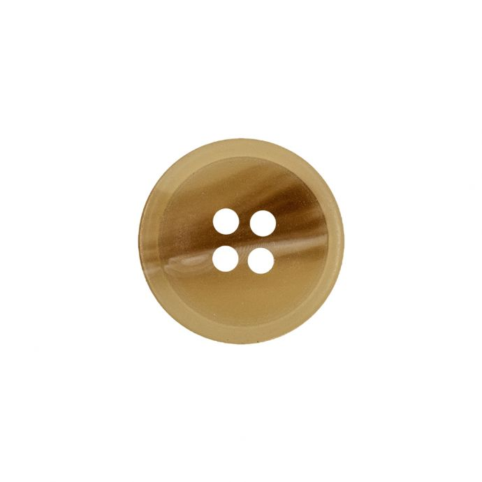 Fawn and Wheaton Abstract Landscape 4-Hole Plastic Button - 28L/18mm