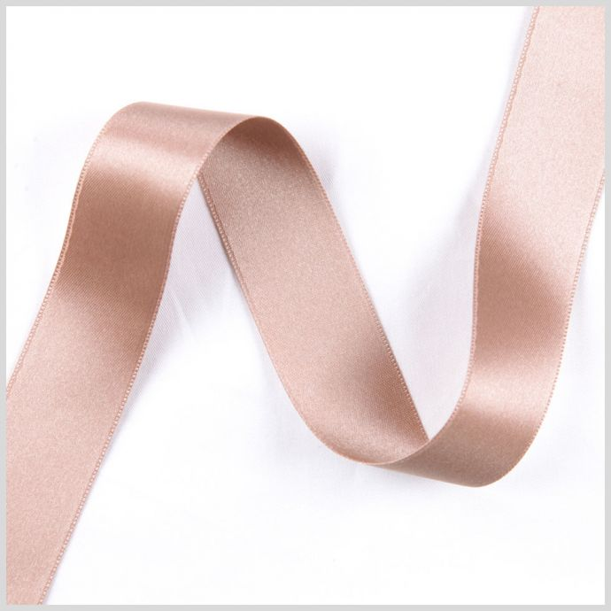 1.5 Taupe Double Face French Satin Ribbon