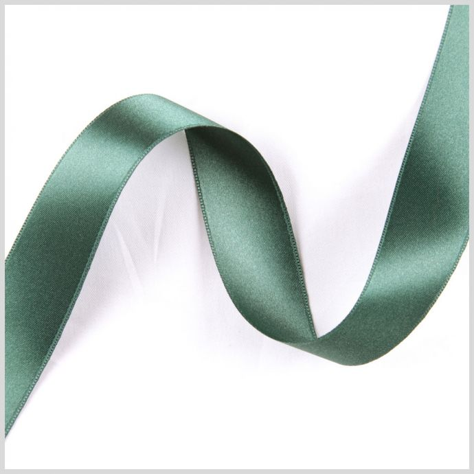 1.5 Forest Double Face French Satin Ribbon
