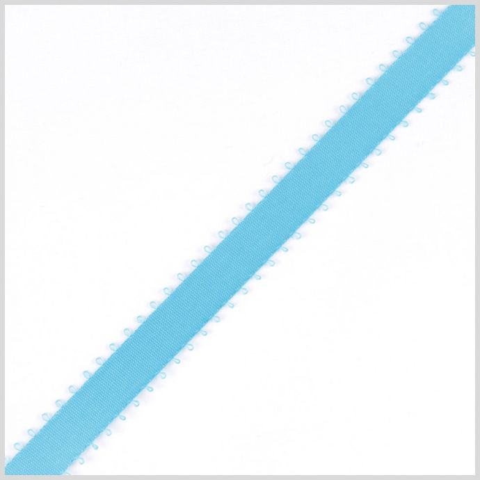 3/16 Misty Turquoise Double Face Feather Edge Satin Ribbon