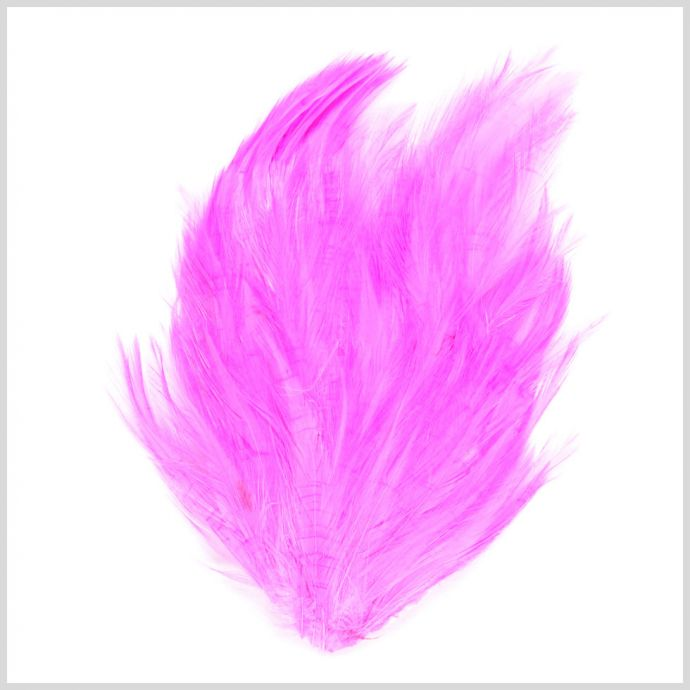 F13-Hot Pink Feather Pad