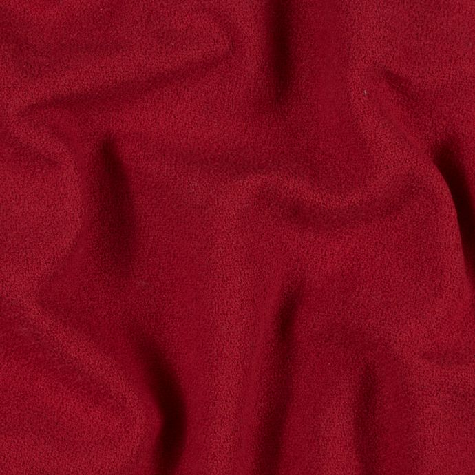 Mars Red Textural Cotton and Wool Blend