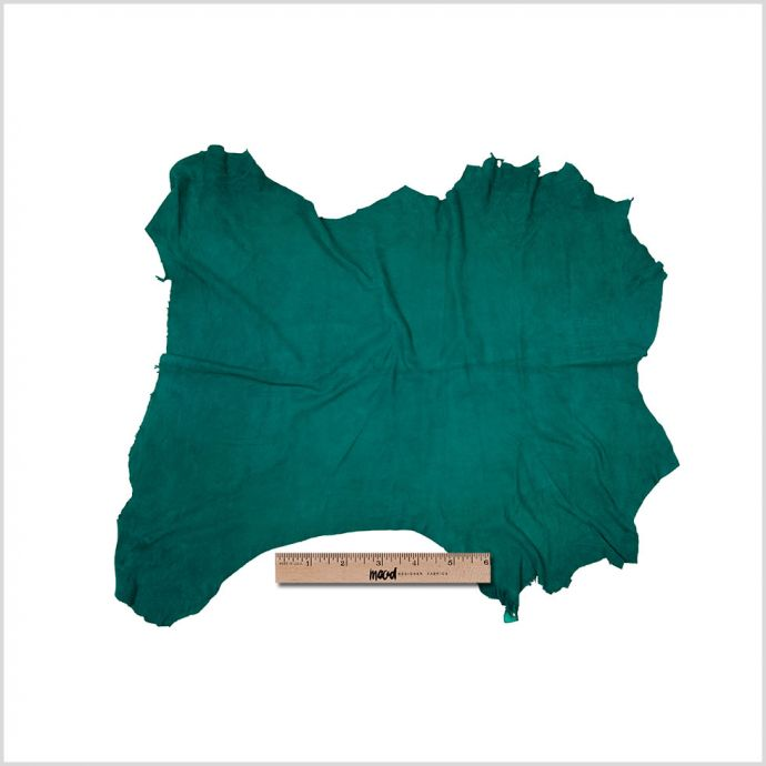 Small Parasailing Green High Quality Lamb Suede