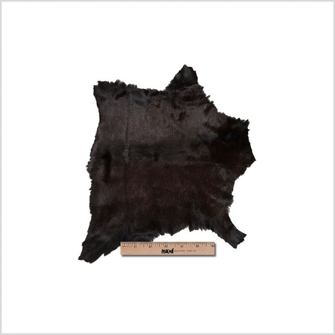 Small Black and Red Goat Fur