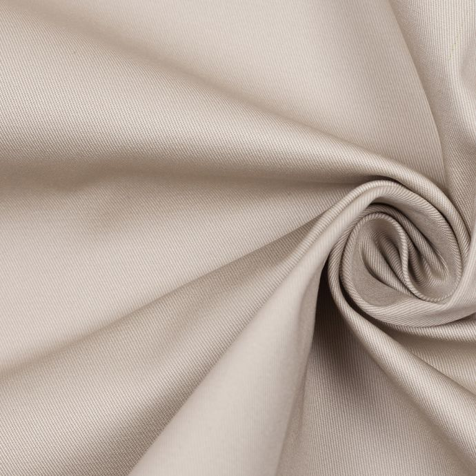 Italian Mother Goose Satin-Faced Stretch Cotton Twill