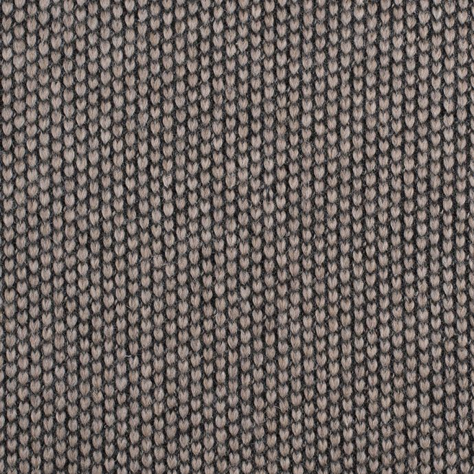 Herno Taupe Knit Wool Coating