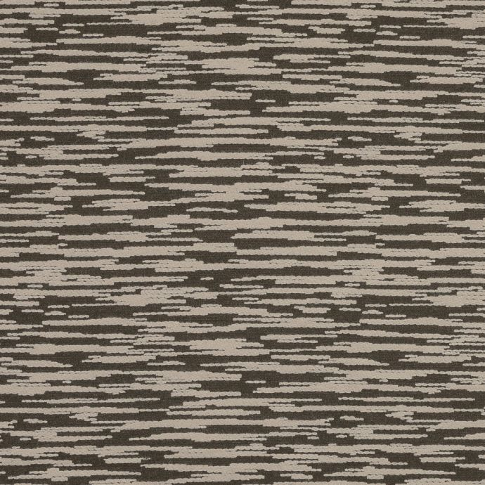 Beige and Olive Striated Wool Jacquard