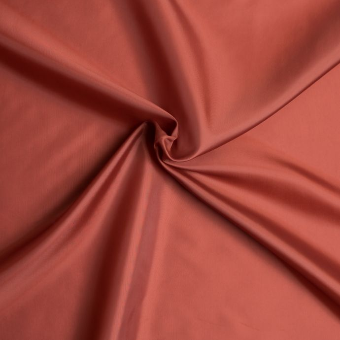 Terracotta Polyester Lining