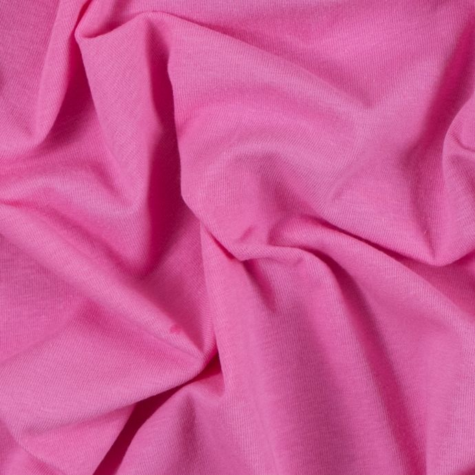 Pink Candy Solid Cotton Jersey