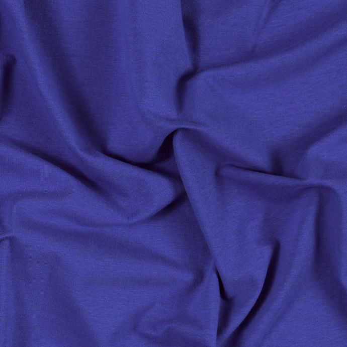 Royal Wide Solid Cotton Jersey