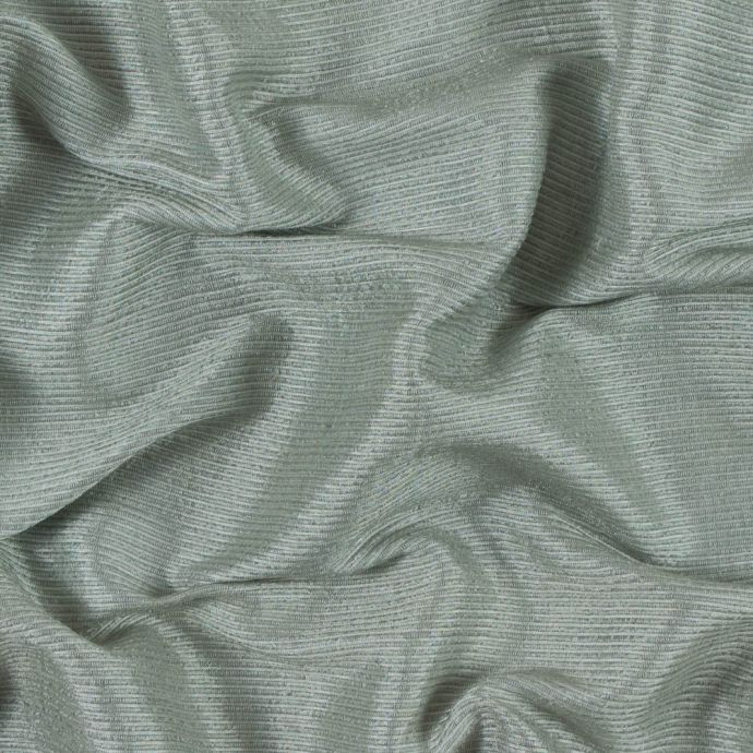 Frosty Green Ribbed Rayon Woven