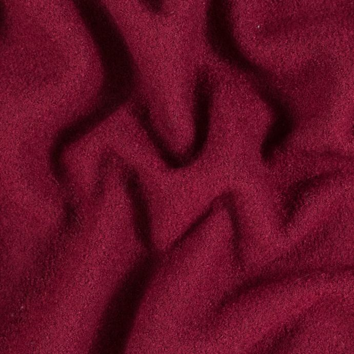Rumba Red Solid Boiled Wool