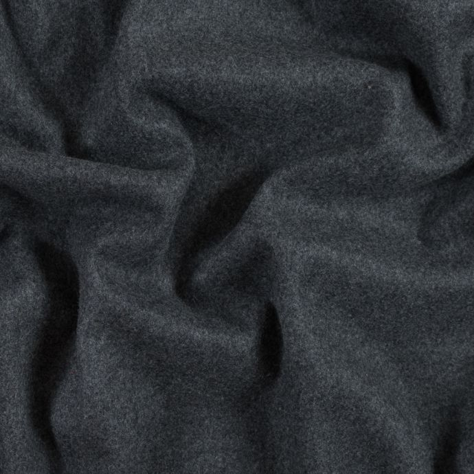 Ralph Lauren Heathered Gray Felted Cashmere Coating