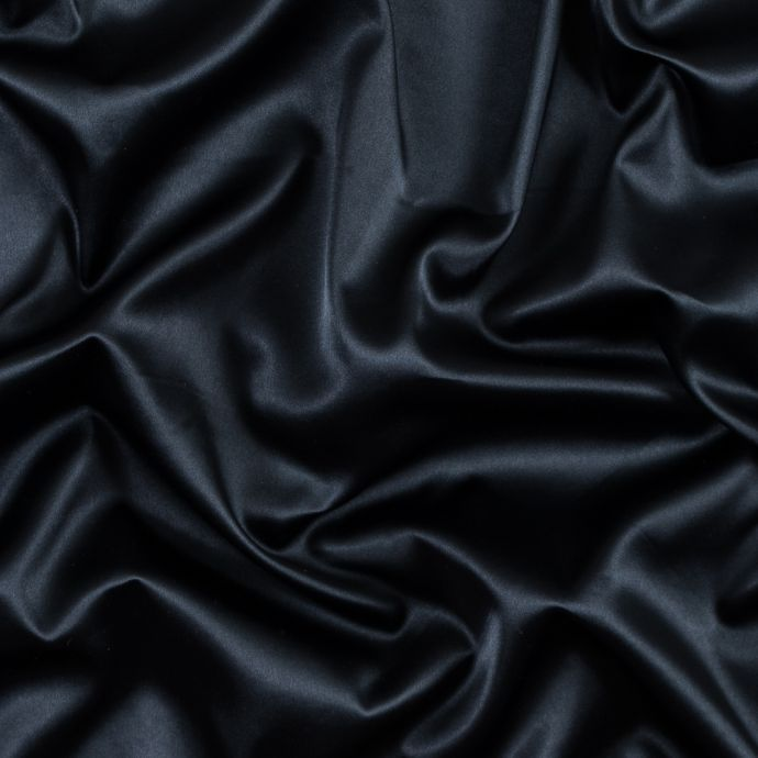 Total Eclipse Stretch Polyester Charmeuse