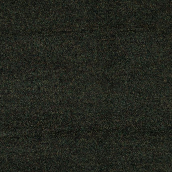 Cyprus and Black Double Faced Wool Coating
