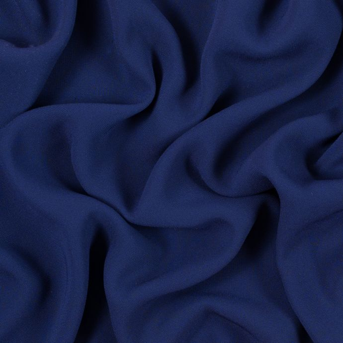 Deep Wisteria Stretch Polyester Crepe
