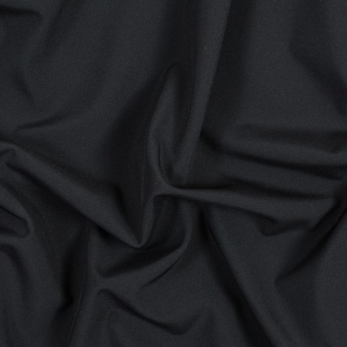 Black Performance Soft Shell Woven with a Fleece Back