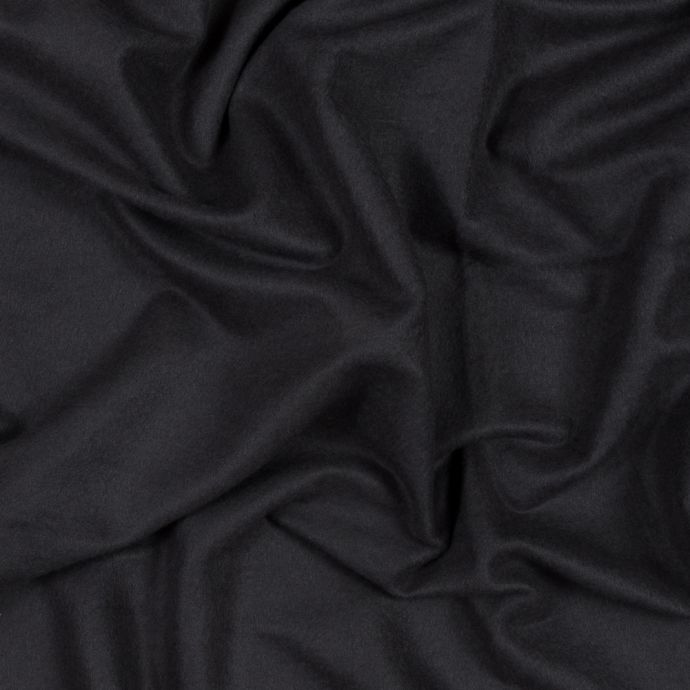 Dark Shadow Bamboo and Cotton Stretch Knit Fleece