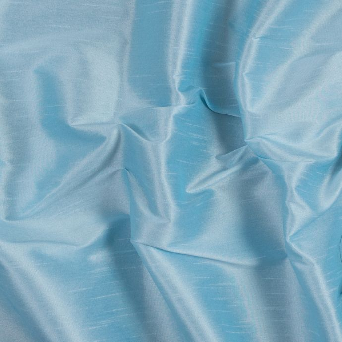 Baby Blue Polyester Shantung