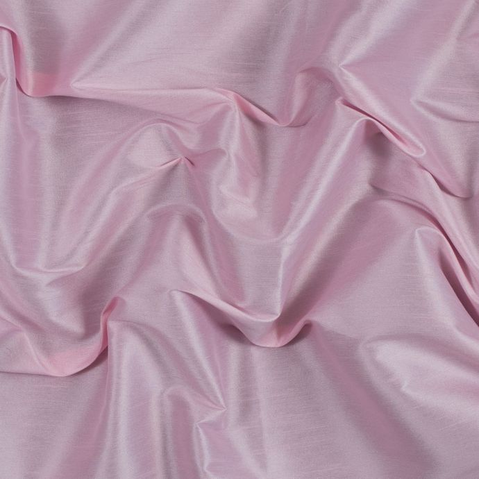 Candy Pink Polyester Shantung
