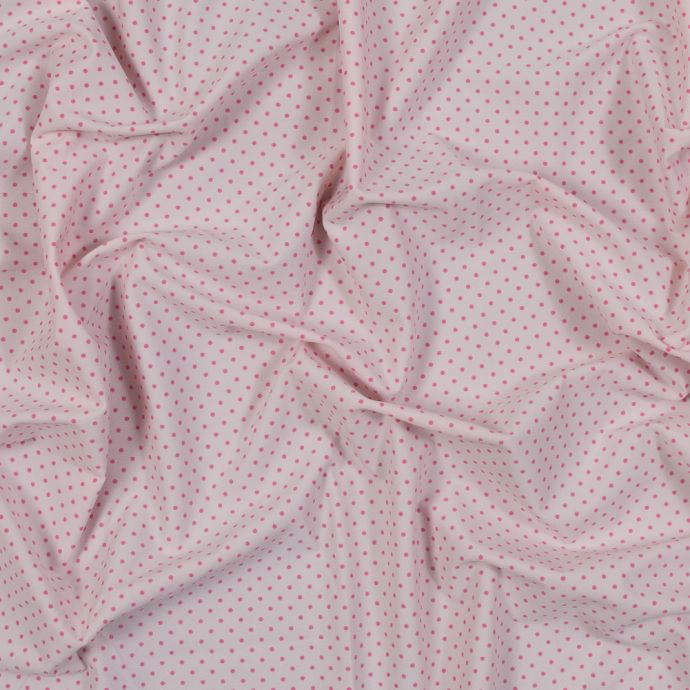 Parfait Pink Polka Dotted Stretch Tricot