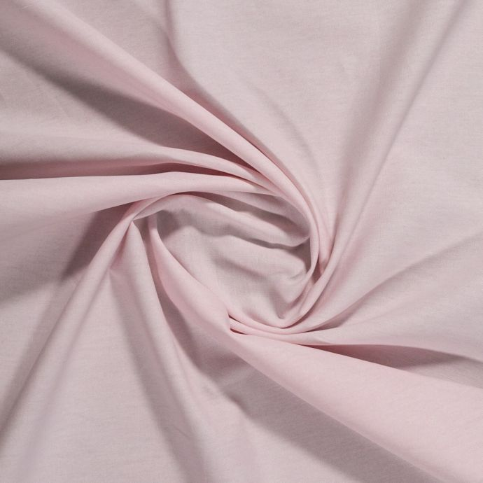 Chesterton Pink Calendered Organic Cotton Oxford