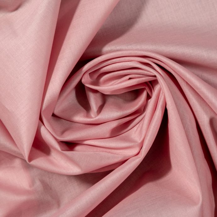 Toulouse Dusty Rose Mercerized Organic Cotton Voile