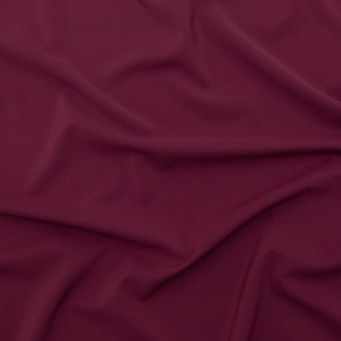 Theory Deep Rouge Stretch Polyester Crepe