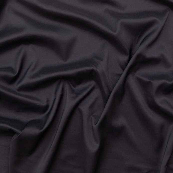 Theory Charcoal Radiant Polyester Twill Lining