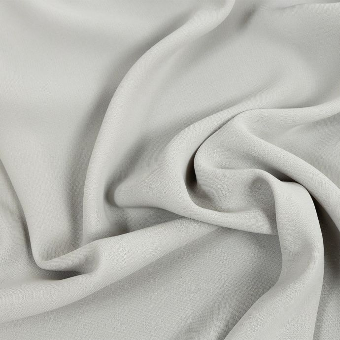 Premium Suzie Oatmeal Polyester 4-Ply Crepe