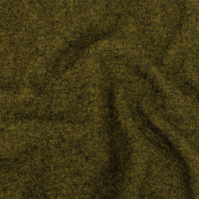 Ketil Chartreuse Marbled Boiled Wool