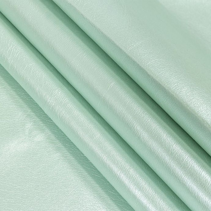 Green Pearlized Faux Leather