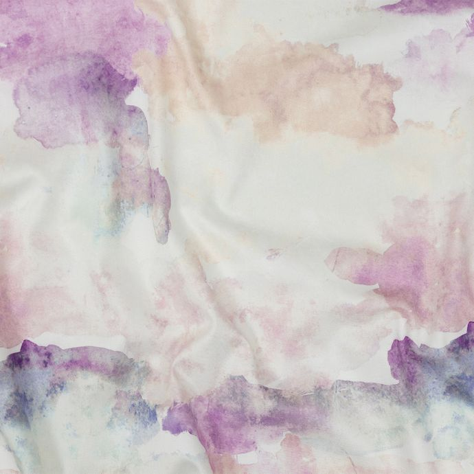 Mood Exclusive Angel Wing and Blue Blush Celestial Radiance Stretch Cotton Sateen