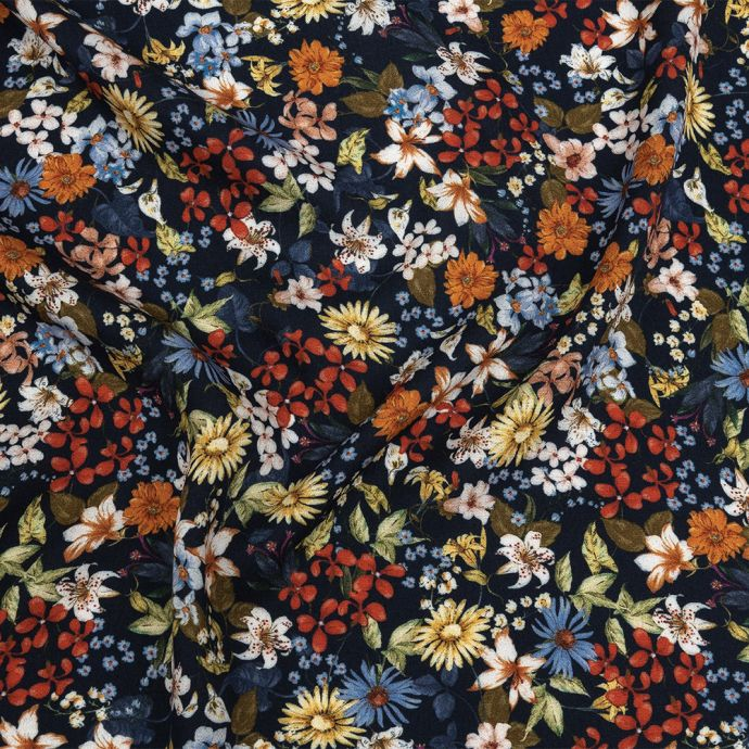 Mood Exclusive Panorama of Paradise Viscose Twill