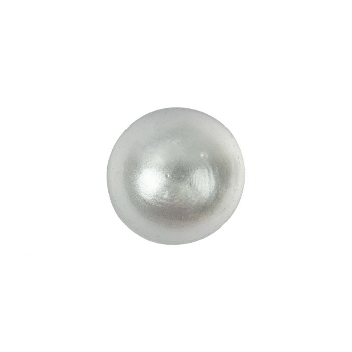 Translucent Dome Shaped Shank Back Plastic Button - 24L/15mm