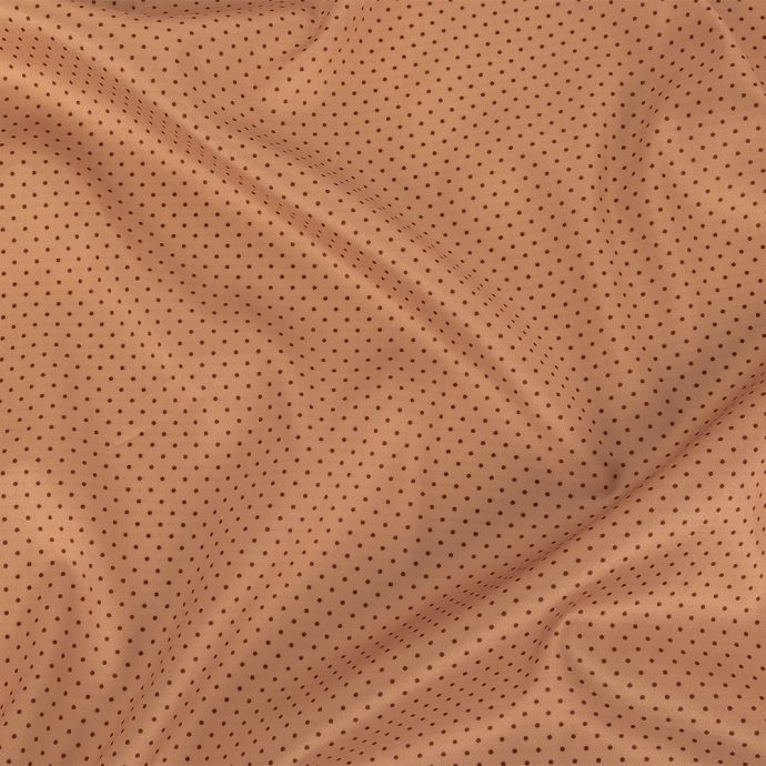 Theory Pale Rose and Black Cherry Polka Dots Radiant Stretch Polyester Twill Lining